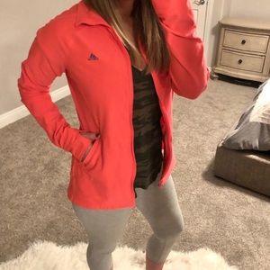 Adidas Full Zip Like new Coral Track jacket